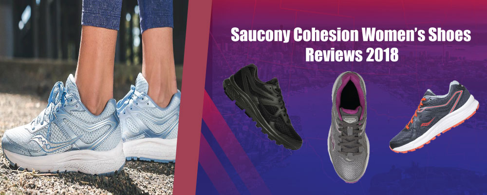 Saucony Cohesion Women's Running Shoes Reviews 2018