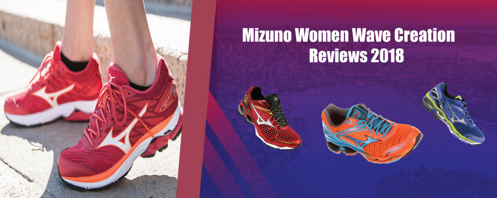 Mizuno wave creation women's running shoes