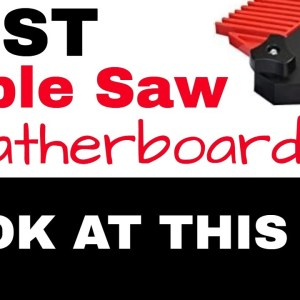 Featherboard (Best Featherboard for Table Saw)
