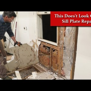 I Need to Fix this Wall - Rotten Wood Repair