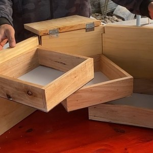 Smart Woodworking Skills ideas // The New Smart Modern Mini Storage Cabinet Design Idea