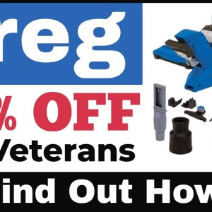 Kreg 720 Pro Discounted 20% OFF For Veterans