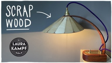 Making a Lamp from Scrap Wood