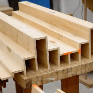 Making A Quadratic Diffuser From Plywood - Acoustics