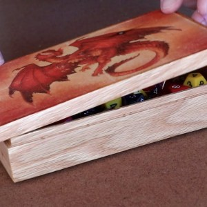 Red Dragon Dice Box