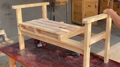 Interesting Wood Pallet Recycling Ideas | Essential Pallet Chair For Your Home