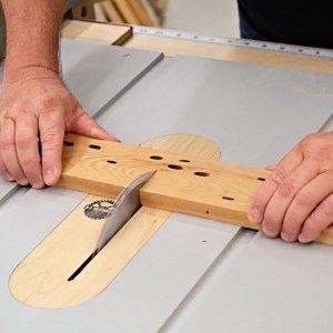 Table Saw Basics - How To Crosscut