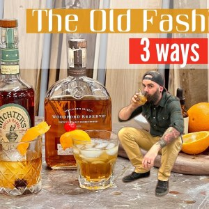 Ultimate Whiskey Old Fashioned || Whiskey Mixed Drinks at Home