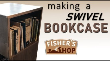 Woodworking: Making a Swivel Bookcase