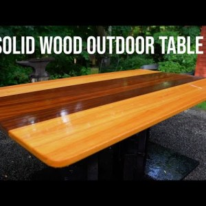 Outdoor Dining Table | How to Woodworking