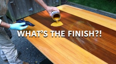 Outdoor Wood Finish - Outdoor Table Wood Sealer