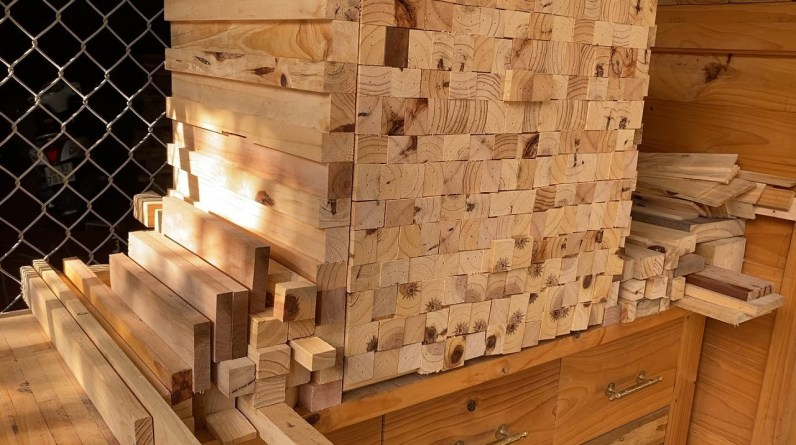 You Will Be Amazed At The Results Of The Project //A Secret Storage Cabinet Made From Scrap Wood