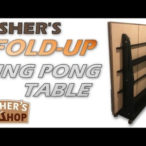Woodworking: The Ultimate DIY Ping Pong Table