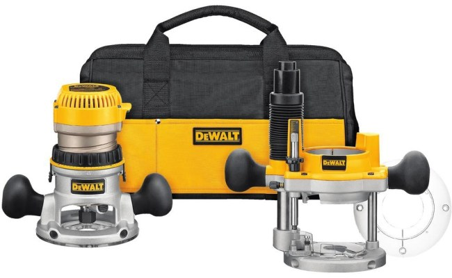 DeWALT router combo kit
