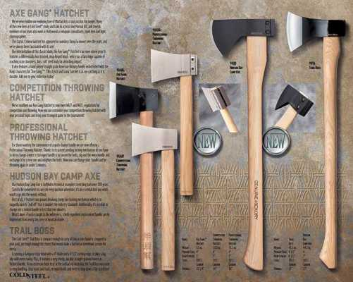 cold steel wood chopping axe
