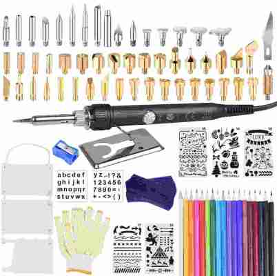 kuman Wood Burning Kit