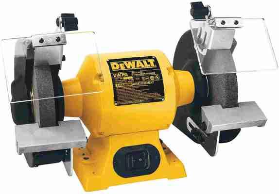 DEWALT Heavy Duty Bench Buffer - Grinder, 8-Inch (DW758)