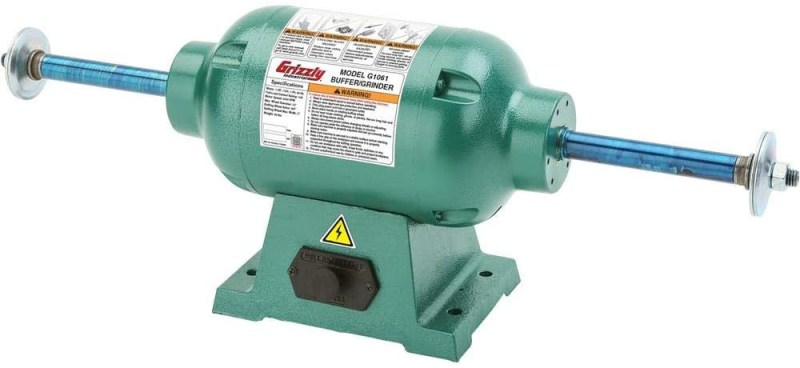 Grizzly Industrial G1061 Heavy Duty Bench Buffer