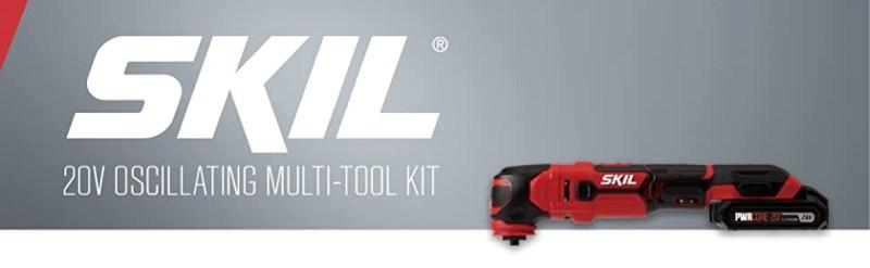 Skil 20V Cordless Oscillating Power Tool Kit