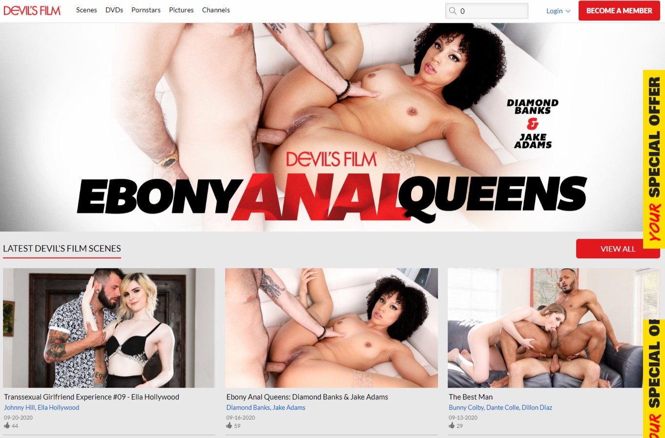 Devilsfilm - Best Premium XXX Sites