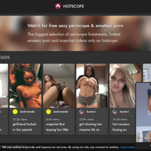 Hotscope - Best Amateur XXX Sites