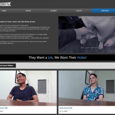 Dirtyscout - Best Premium Gay XXX Sites
