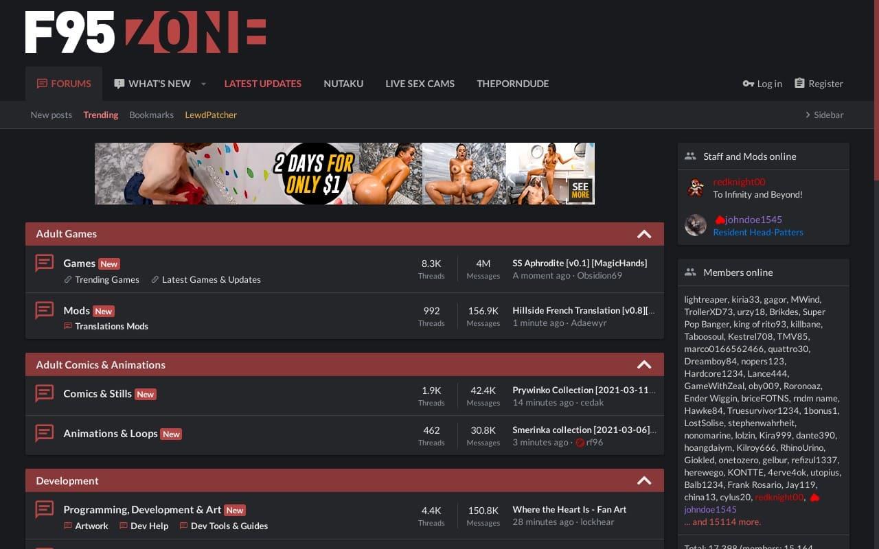 F95Zone -  List