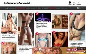 Influencers Gonewild -  List