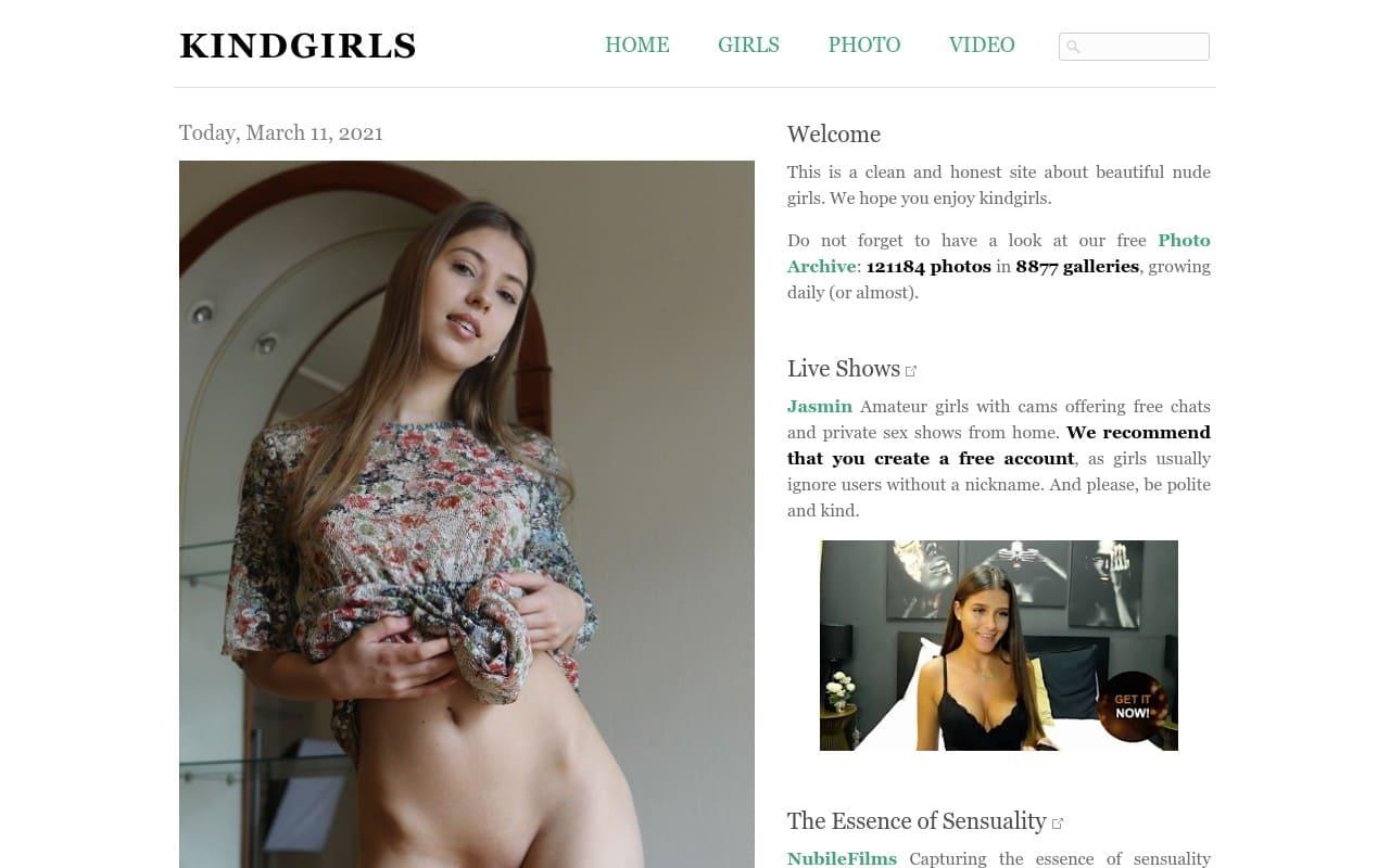 Kindgirls -  List