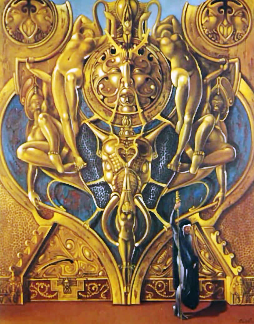 Atlantis goldenes Tor
