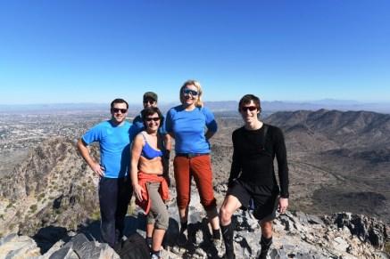 Fra fjelltur i Phoenix