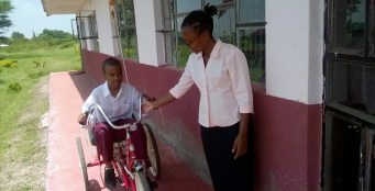 Trehjulsykkelen gir også god terapi