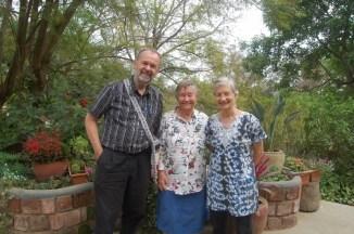 Besøk hos gode venner. Reidun bodde og jobbet hos disse canadiske paret i ca 8-9 år