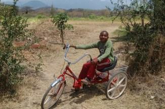 Goodie syntes det var moro med sykkel
