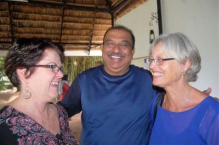 Judi, Chandu og Berit (fra 3 verdensdeler)