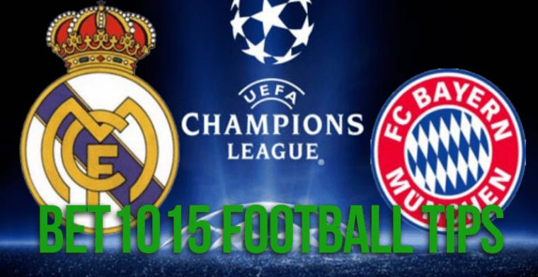 Real Madrid v Bayern Munich prediction