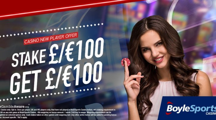 Boylesports Casino Sign Up Welcome Offer