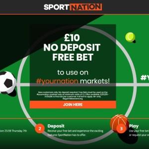 £10 No Deposit Offer