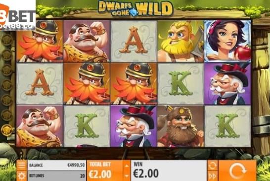 Hướng dẫn cách chơi trò Dwarfs Gone Wild 188bet đơn giản nhất