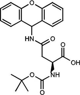 N-α-BOC-N-β-Xanthenyl-L-asparagine, 96%, ACROS Organics