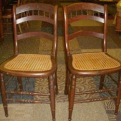 Antique Cane Chairs Lawn Chair Webbing Walmart Unusual 4 And Antiques