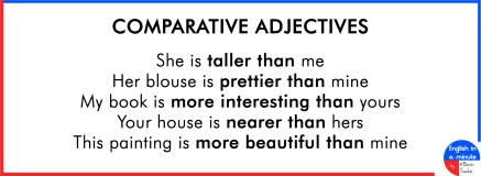 Adjectives – English in a minute by Baroni Teacher