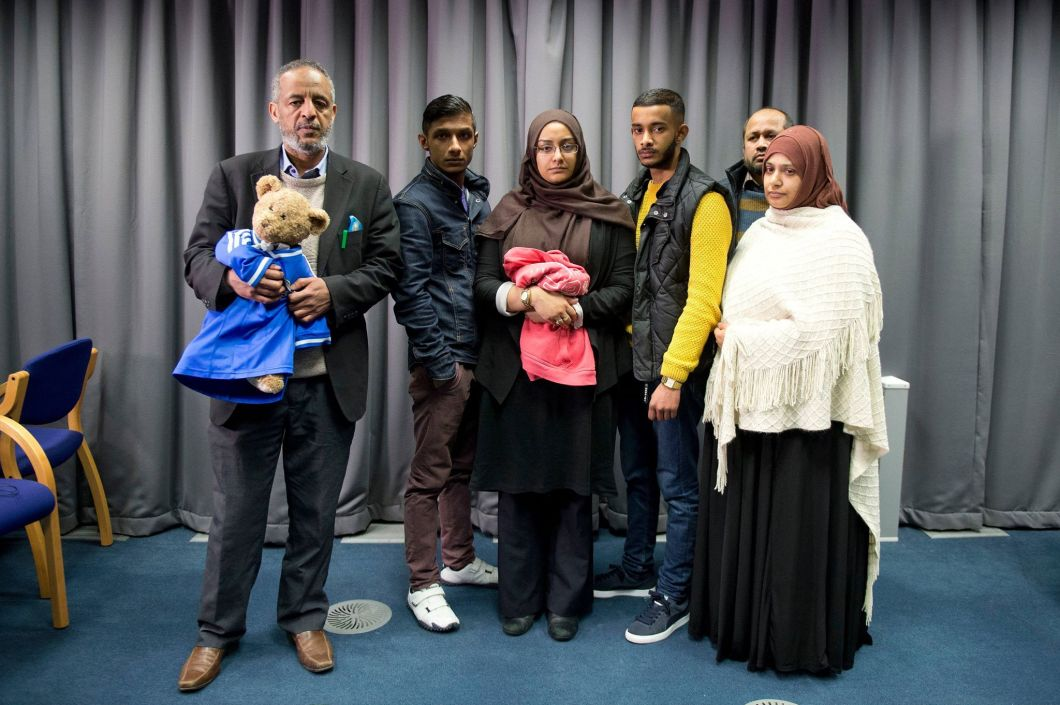 The teenager's family have pleaded for their daughter to be allowed to return to the UK. Credit: PA