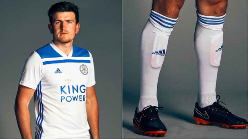 Harry Maguire Wears The Smallest Shinpads In The World And It's Becoming A Meme