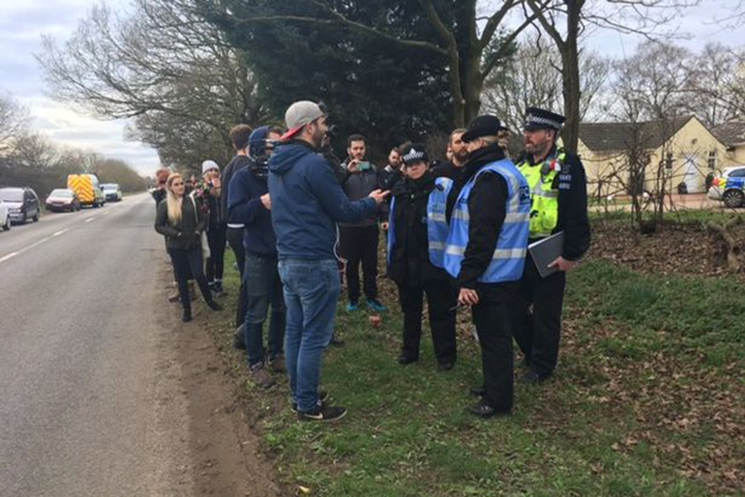 The protesters have denied any wrongdoing. Credit: Lincolnshire Live/Reach
