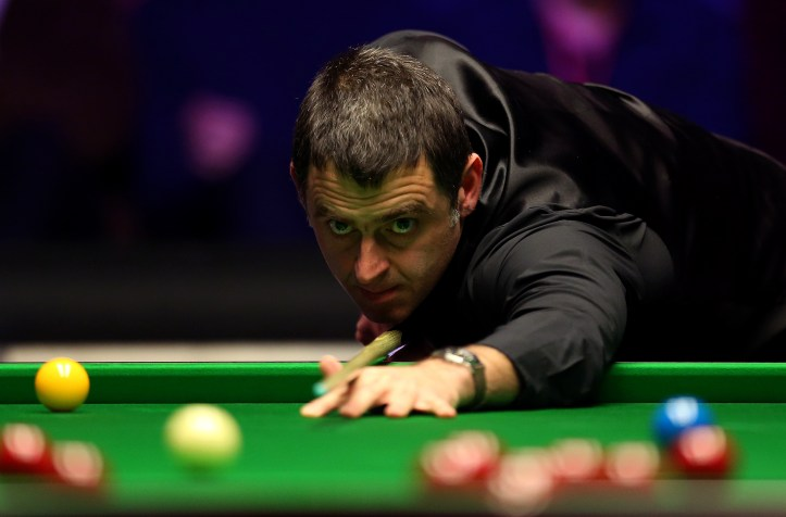 O'Sullivan in the 2019 Masters final. Image: PA Images