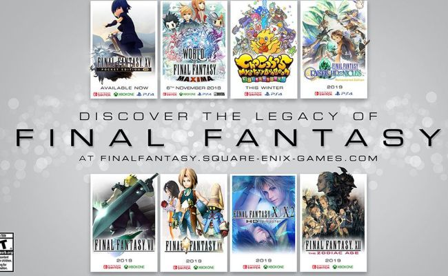 Lots Of Final Fantasy Games Are Coming To The Nintendo