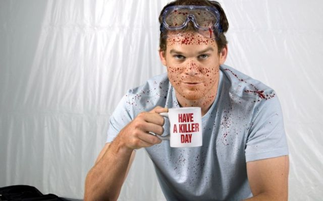Michael C. Hall as Dexter Morgan. Credit: Showtime