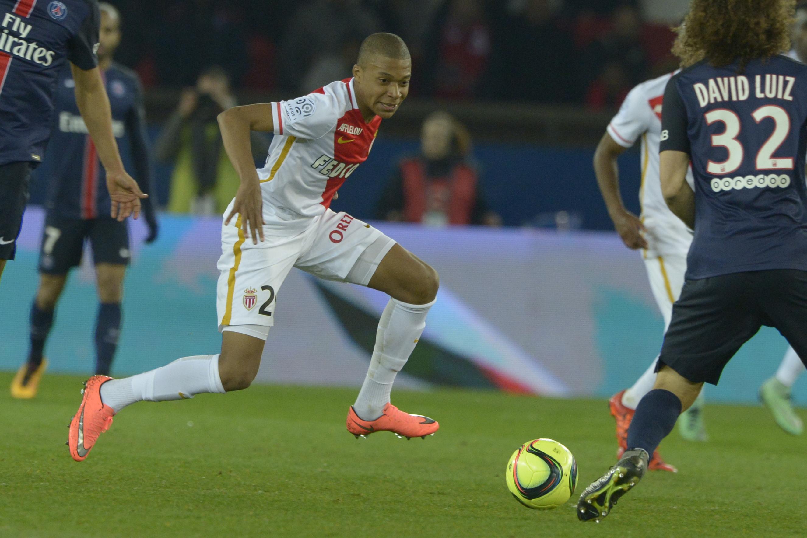 Mbappe became Monaco's youngest scorer in 2016 but might have never made it there. Image: PA Images