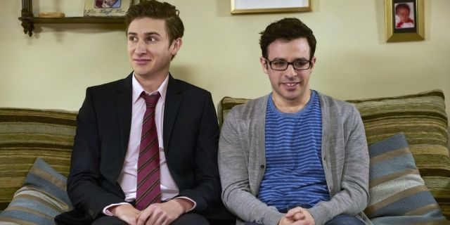 Simon Bird and Tom Rosenthal Friday Night Dinner - Credit: Channel 4